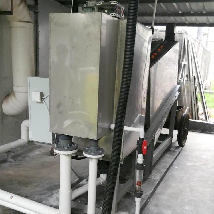 401型市政污水叠螺式污泥脱水压滤机 周晓畅厂家直供污泥脱水机 叠螺机价格
