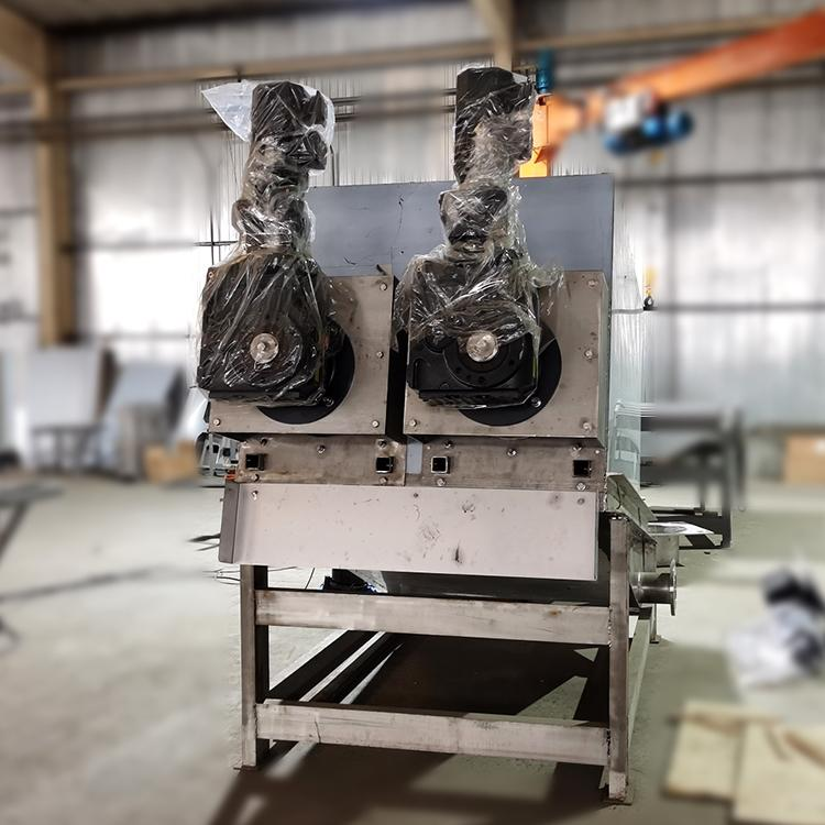 污泥叠螺机 302型皮革厂全自动叠螺式污泥脱水机广东厂家直供