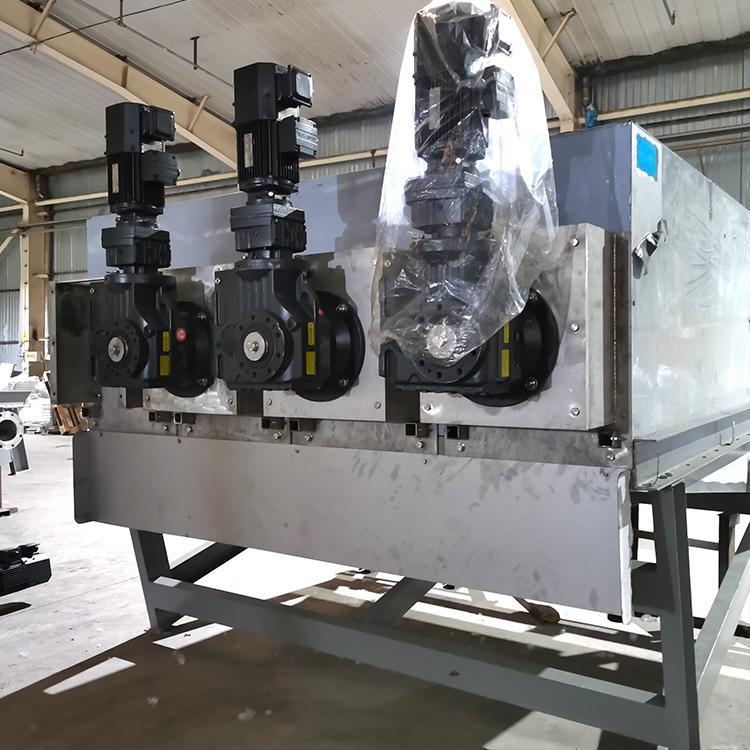 353型制药厂全自动叠螺式污泥脱水压滤机 污泥压缩设备山东厂家直供