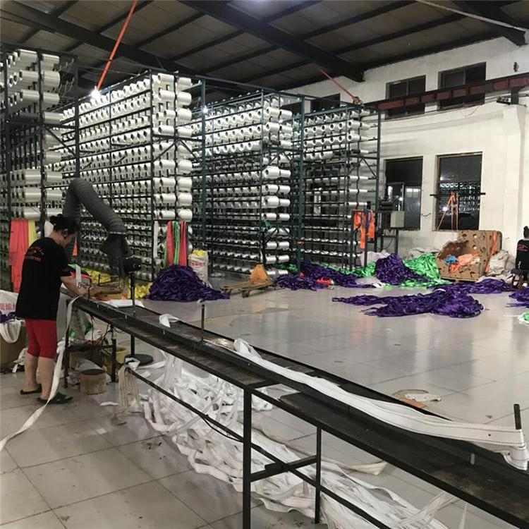 吊装带 厂家供应彩色扁平吊带 工业扁平吊装带定制