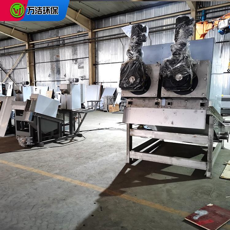 工业污泥处理设备 周晓畅不锈钢材质叠螺式污泥脱水机生产厂家