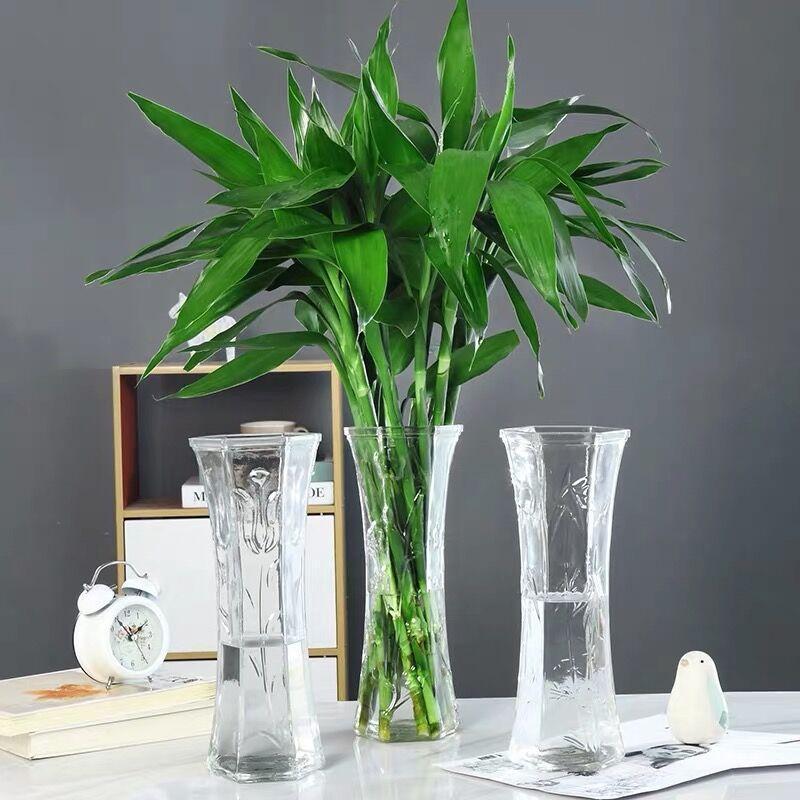 徐州亚特玻璃瓶厂家 直销花盆插花花瓶钻石花瓶折纸花瓶花瓶