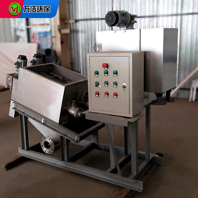 制革厂污水处理设备 132型叠螺式污泥脱水机厂家直销 不锈钢叠螺机