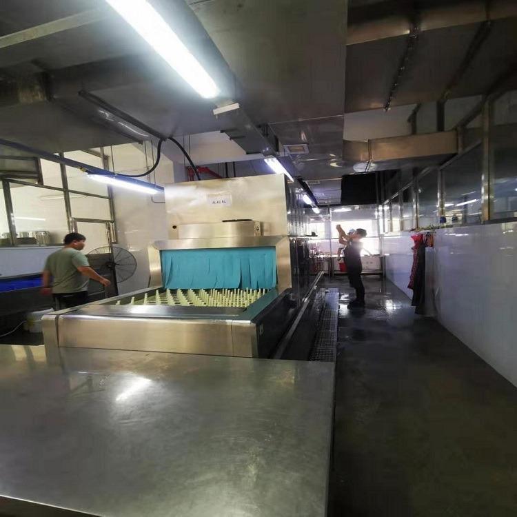 小中大型食堂洗碗机- 自动除渣、热循环、自动卡停、无线远程操控 -多功能全自动洗碗机-可定制