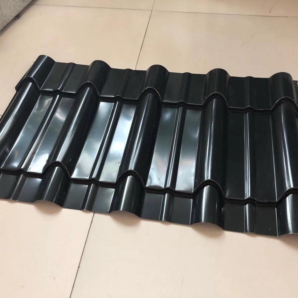 江西庐山 YX30-200-800仿古琉璃瓦 铝镁锰仿古瓦 彩钢琉璃瓦 多亚现货