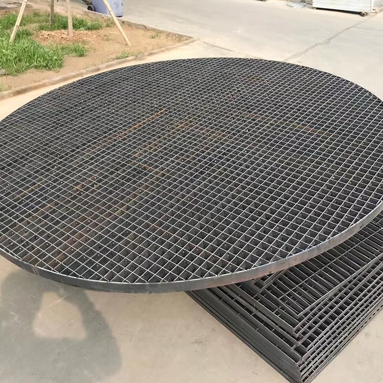 雄冠-污水處理廠鋼格柵板G323排水好不生銹不開焊