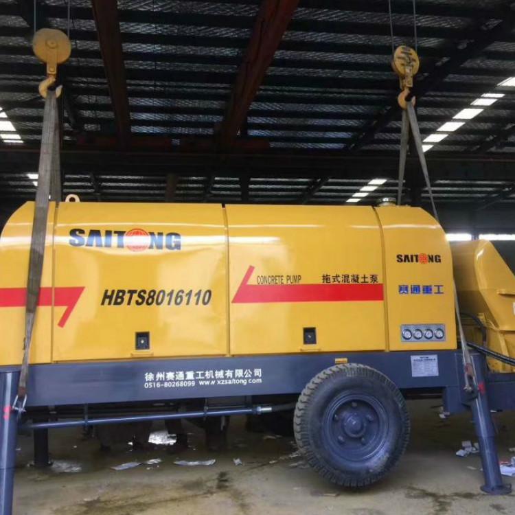 赛通重工 混凝土输送泵型号 混凝土输送泵功率 hbt80混凝土输送泵