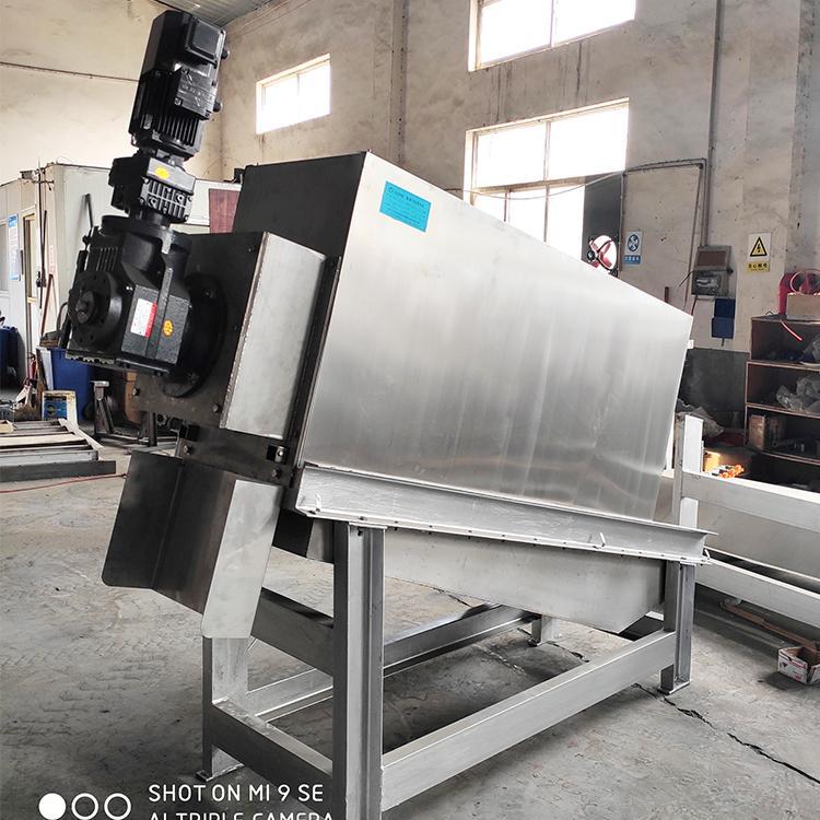 污泥脱水机 周晓畅301型皮革厂全自动不锈钢碟螺式污泥脱水机厂家直销