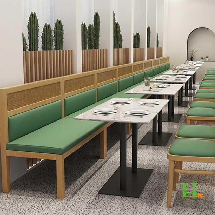 合肥恒品家具店 时尚餐厅桌椅厂家 酒店家具订制 食堂餐厅桌椅
