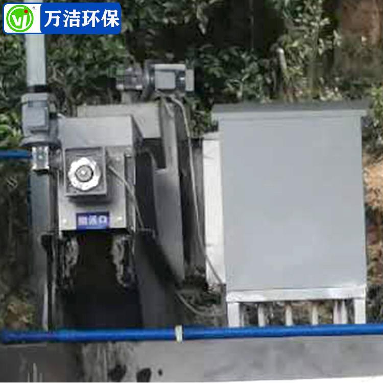 叠螺机工作 131型叠螺式污泥脱水压滤机 山东叠螺机