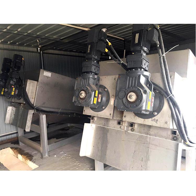 202叠螺机 全自动叠螺式污泥脱水机 周晓畅叠螺机厂家定制