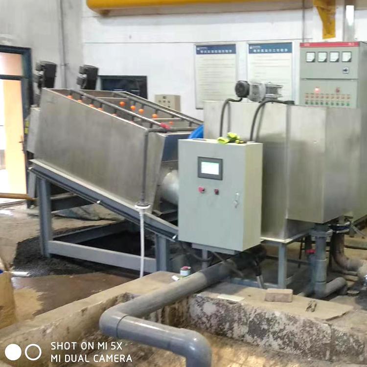 叠螺压滤机 全自动叠螺式污泥压滤机 叠螺压滤机优点