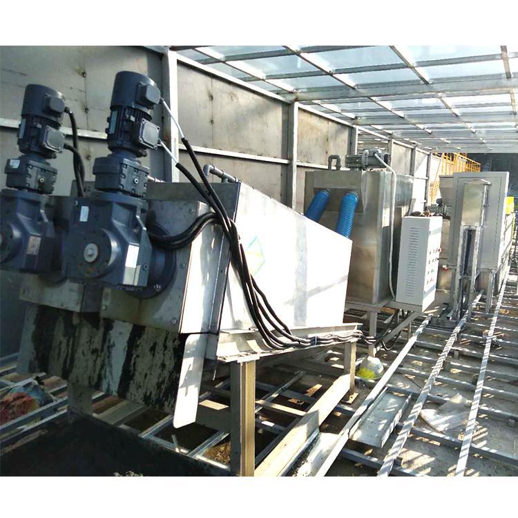 叠罗污泥脱水机厂家 市政污水厂固液分离设备 叠螺脱水机353型