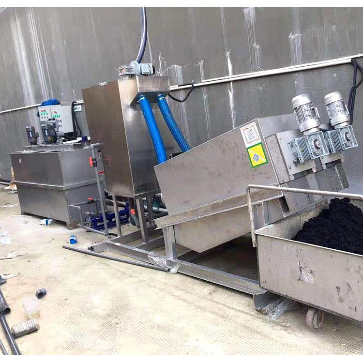 污泥处理叠螺脱水机 操作简单功能齐全叠螺脱水机