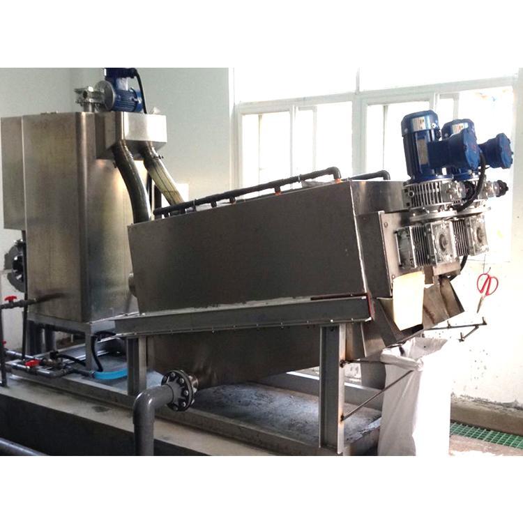 叠螺式污泥脱水压滤机 302型叠螺式污泥脱水压滤机 周晓畅叠螺机厂家定制直销
