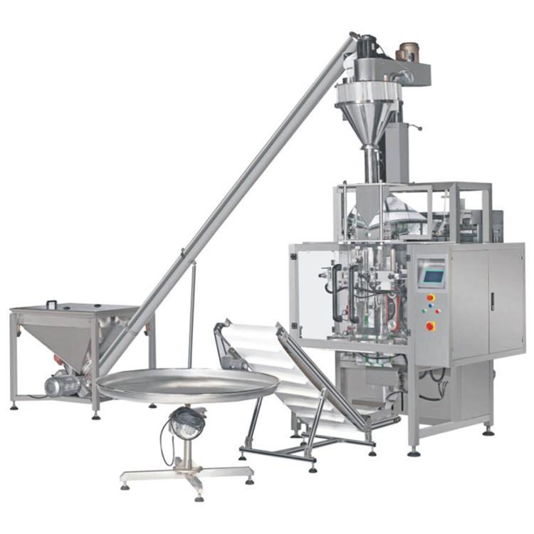 葡萄粉包装机 森利华420粉末立式包装机 全自动粉剂包装机厂家