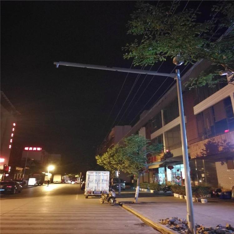 云南丽江 云台摄像机监控立杆摄像机监控安装杆_厂家生产
