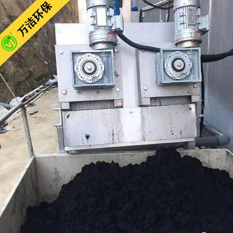 供应叠螺机一体污泥脱水机 叠螺式污泥处理 浓缩脱水设备 北海叠螺机