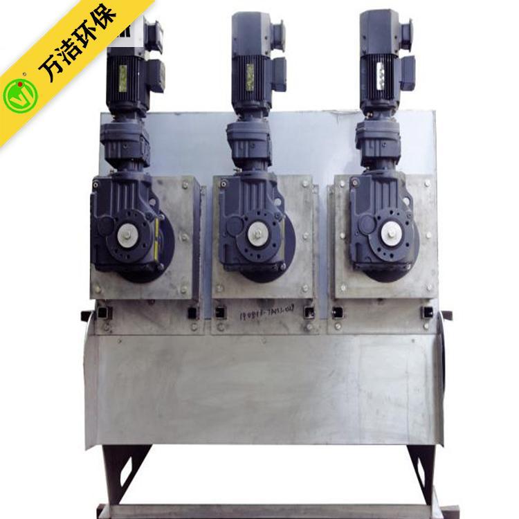 四川叠螺式污泥脱水机设备 生活污水处理设备 北海叠螺机