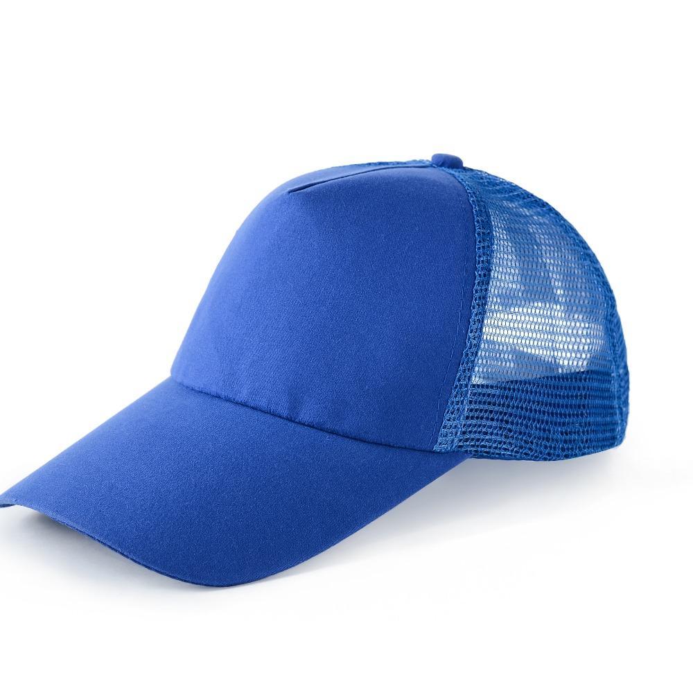 2020年新款工作帽子涤纶网帽 广告帽定制印图镁琳服饰提供