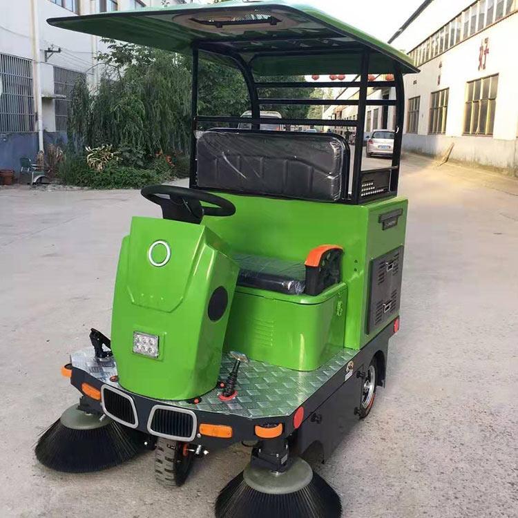 中旺 座驾扫地车 低噪音电动扫地车 全自动清扫机