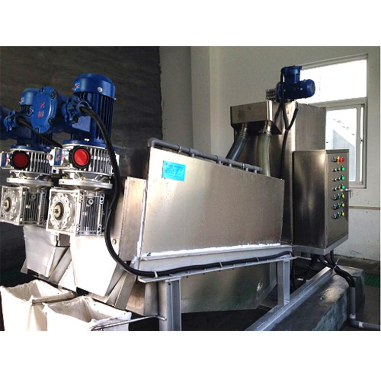洗衣工厂废水污泥脱水机 叠螺机352 叠螺压滤机生产厂家