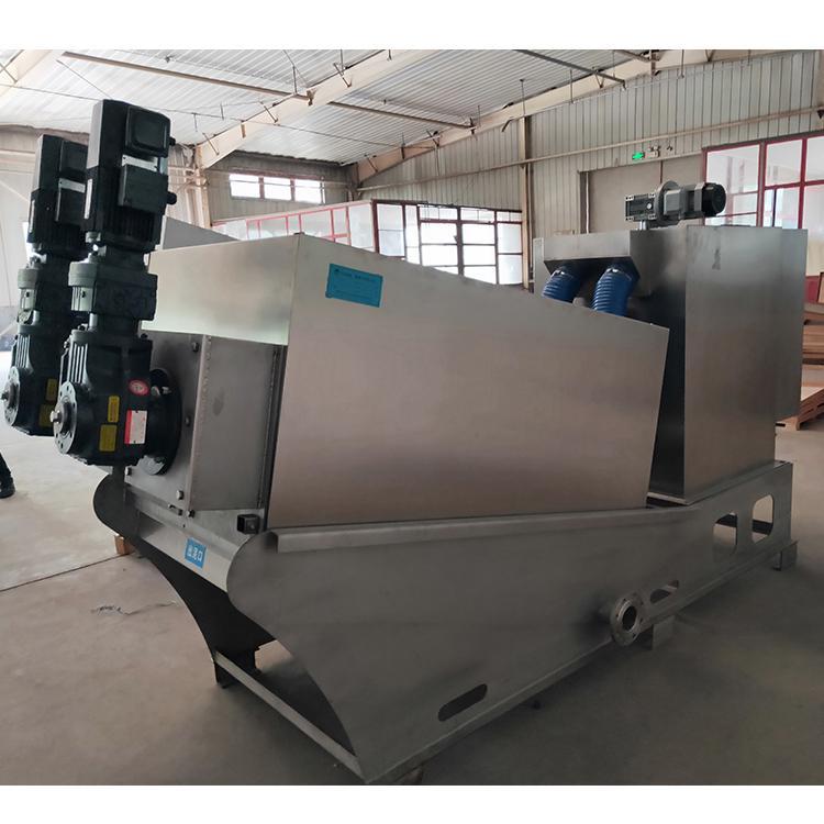 叠螺式污泥脱水机 洗毛厂用叠螺机352万洁环保 叠螺压滤机周晓畅