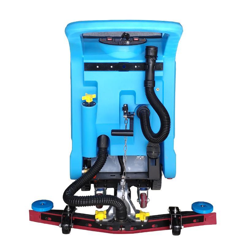 鲁旺厂家直营电瓶式洗地机 超市洗地机优惠