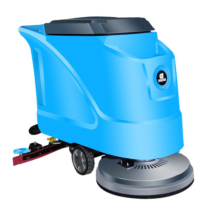 鲁旺厂家直销全自动洗地机 商场洗地机优惠