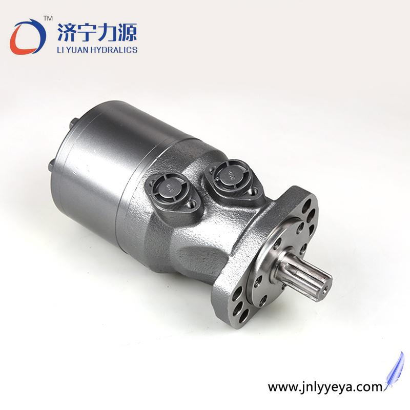 钻机配件液压马达 用于输送带设备济宁力源低速大扭矩摆线马达