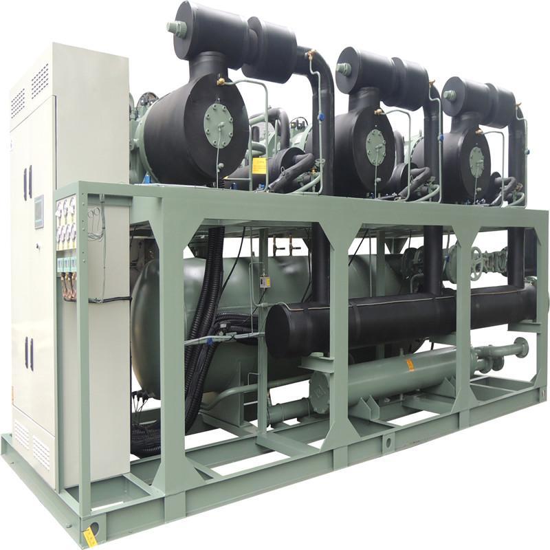 冷水机组生产厂家推荐 单机双级冷凝机组 蓝海神骏