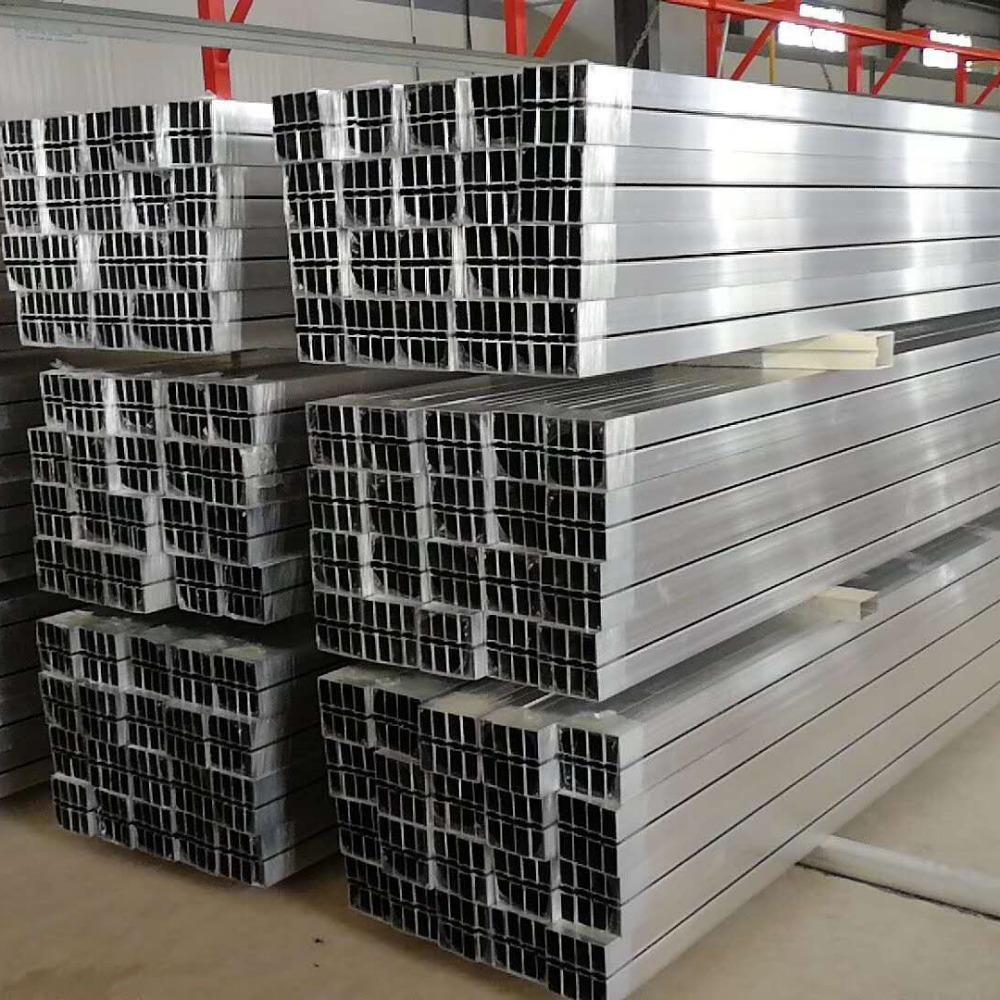 铝方管工厂 铝合金方管 薄壁铝方管 山东鑫迈 实力厂家