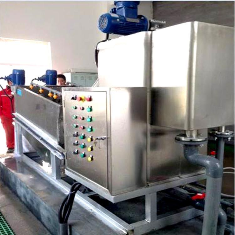 253叠螺脱水机 造纸厂污泥压滤机工厂 叠螺污泥脱水机优质厂家