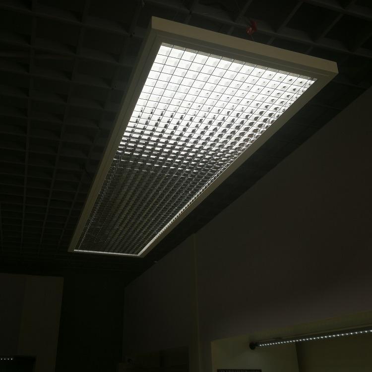 教育照明 UGR防炫光小于16 低蓝光无频闪 护眼教室面板灯教室灯