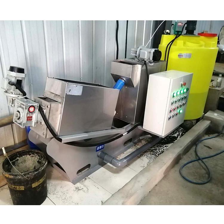 全自动叠螺式污泥脱水机 周晓畅食品厂叠螺式污泥浓缩脱水机
