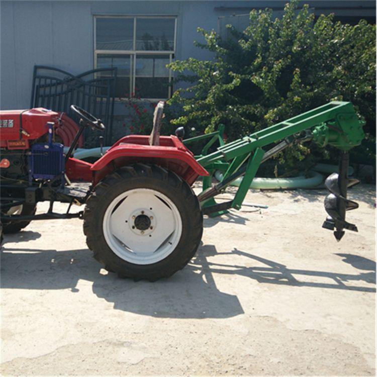 金齐鲁 50-70 小四轮拖拉机带动挖坑机 苗圃移栽专用挖坑机 厂家直销