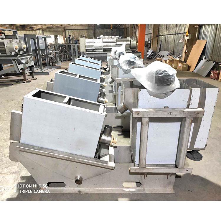 叠螺式污泥脱水机131型 水处理环保设备 叠螺压滤机口碑好