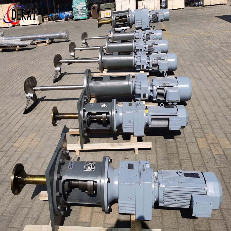電廠脫硫側攪拌裝置生產 立式攪拌裝置定做 德凱攪拌器