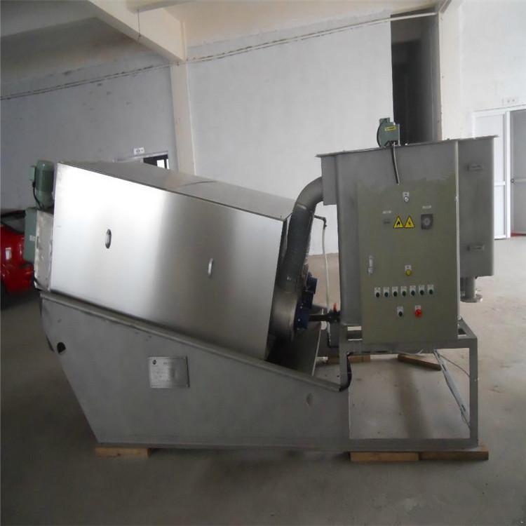 叠螺式污泥脱水机 不锈钢污泥叠螺机 污泥浓缩一体设备 润尔环保
