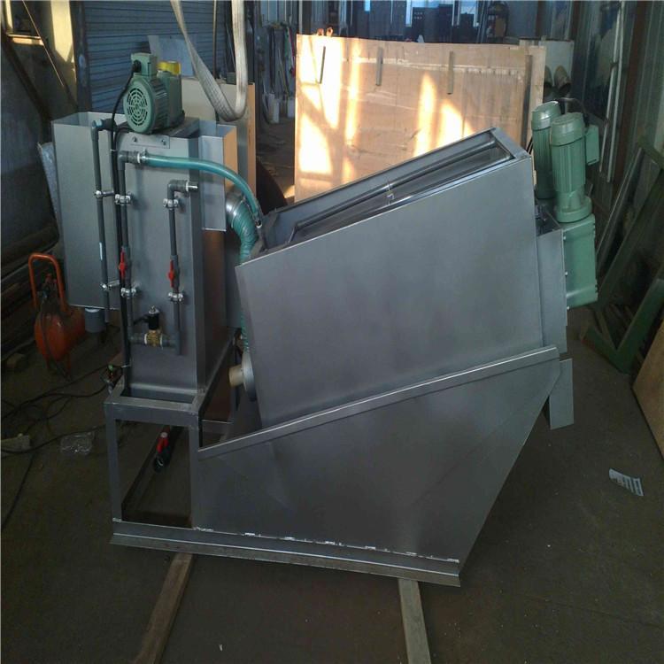 叠螺式污泥脱水机 不锈钢污泥叠螺机 污泥浓缩一体设备 污泥脱水机 润尔环保