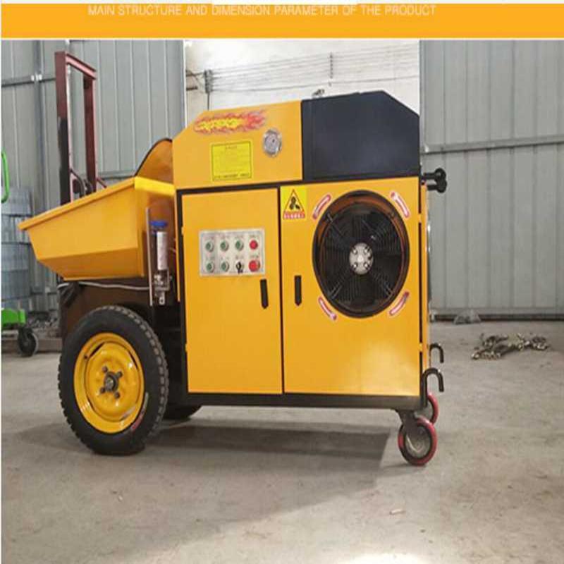 安徽宣城细石混凝土泵 细石混凝土输送泵 车载细石泵 大型细石