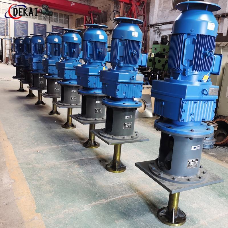 德凱攪拌器碳鋼襯膠攪拌設備電廠用