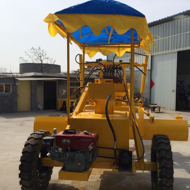 金齐鲁 大型土地耕整平地机 耐磨加深多用途摊铺机 农用大型平地机