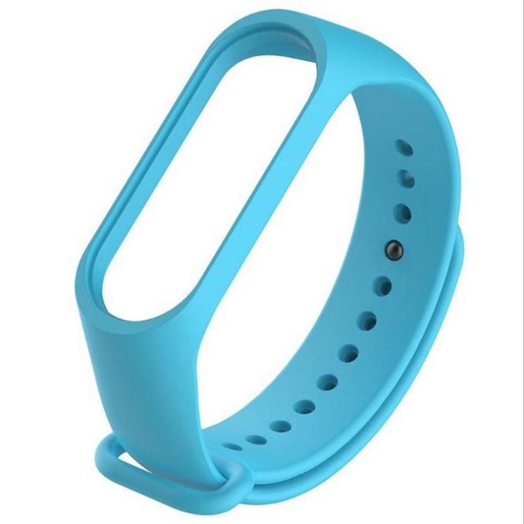 厂家定制小米智能手环 运动手环防水防脱落 小米手环硅胶表带 伟业达硅胶制品加工厂