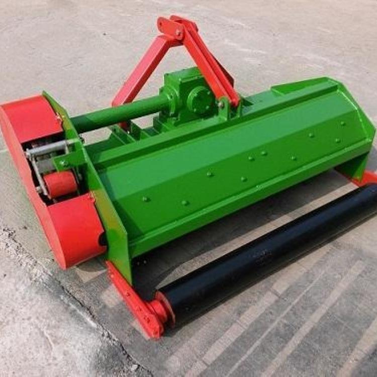 山东金齐鲁 牵引式宽幅还田粉碎机 水稻秸秆还田机 高粱杆打碎机
