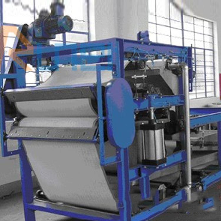 带式压滤机 污泥压滤机 污泥处理设备 润尔环保