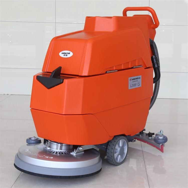 南京栖霞洗地机-栖霞工厂洗地机-龙推手推式LX620价廉物美