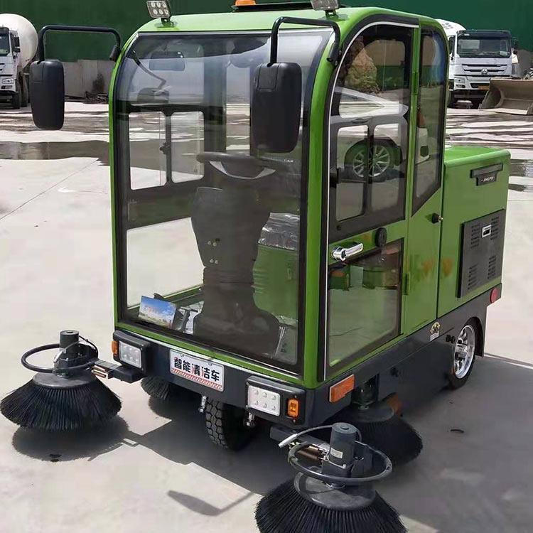 程煤小型全封闭扫地车 环卫电动扫地车 电动四轮扫地车