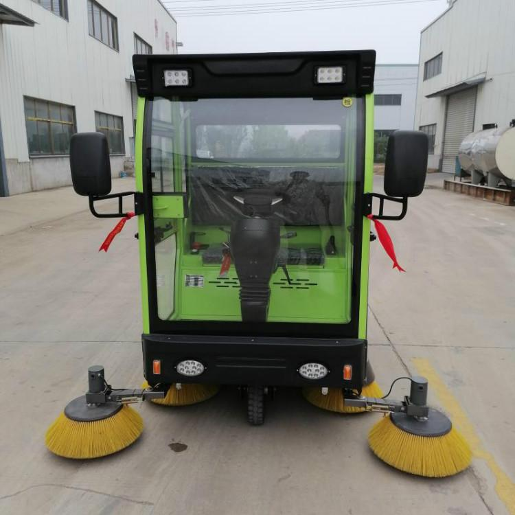 厂家直销 电动环卫扫地车 威顿高科1900全电动扫地车 电动扫地车