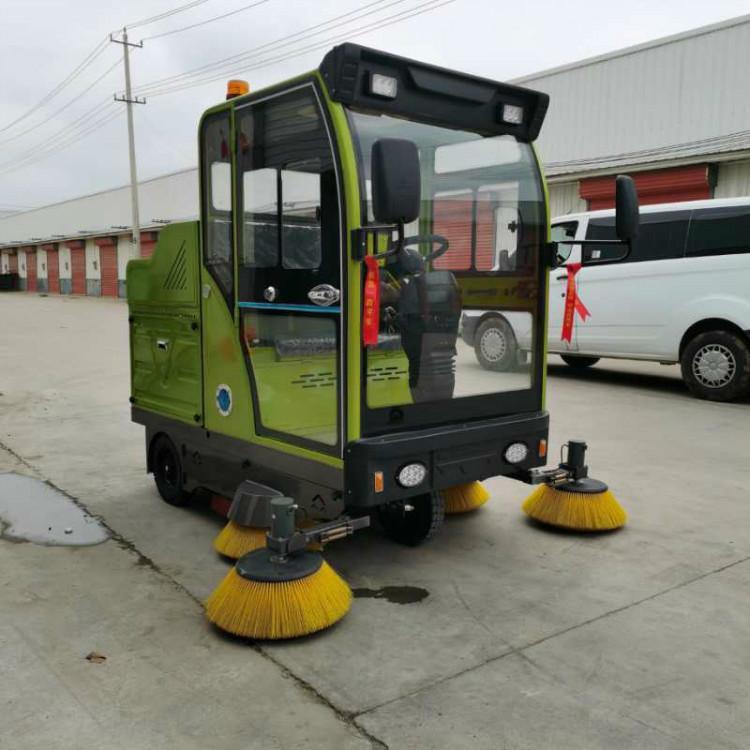 厂家直销 电动环卫扫地车 威顿高科 1900全电动扫地车 电动扫地车